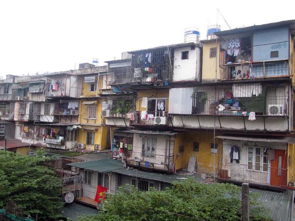 Tỷ lệ chung cư cũ được cải tạo, xây dựng lại vẫn quá ít