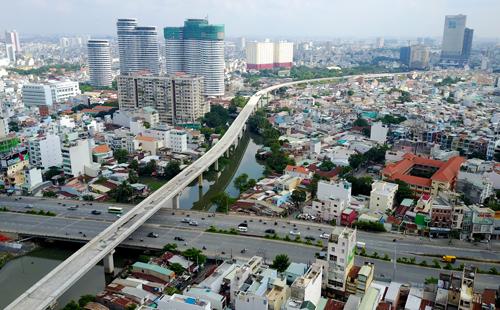 Giá căn hộ vùng ven TP.HCM cũng tăng chóng mặt