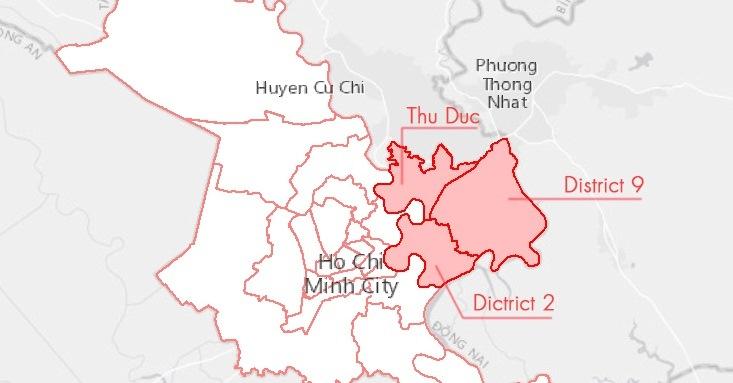 Điều chỉnh Quy hoạch chung xây dựng TP.HCM gắn với Thành phố Thủ Đức tương lai